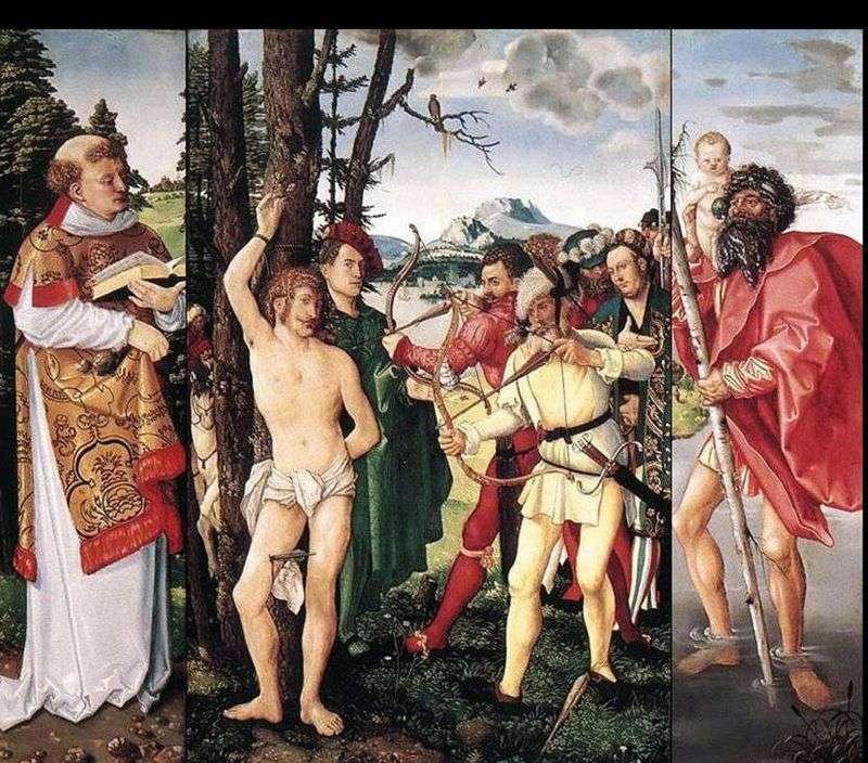 Вівтар святого Себастьяна   Ганс Бальдунг
