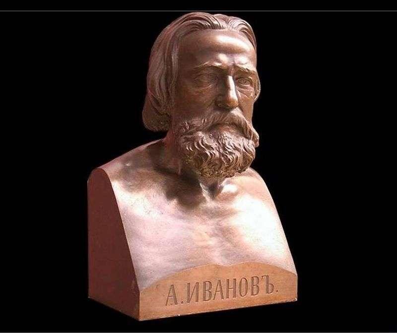Бюст А. А. Іванова   Луїджі Гульельми