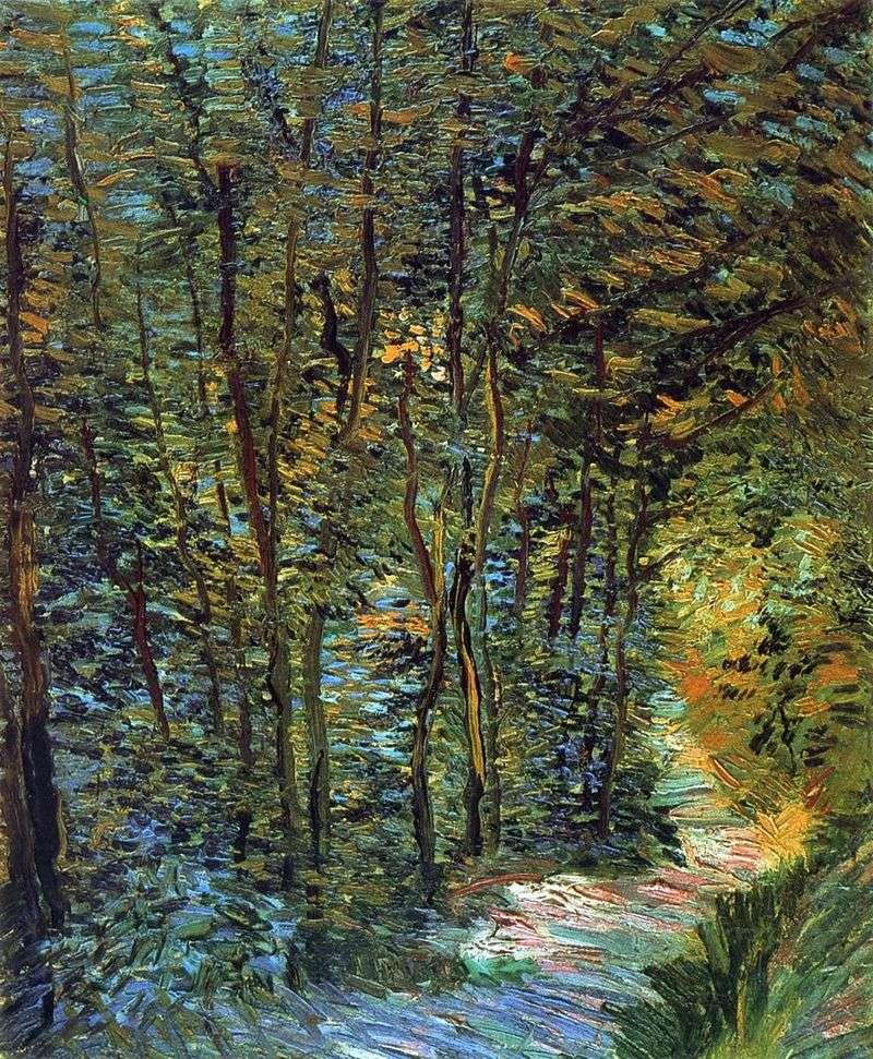 Стежина в лісі   Вінсент Ван Гог