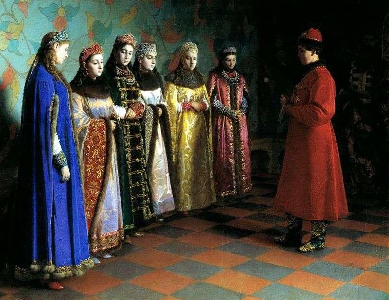 Вибір нареченої царем Олексієм Михайловичем   Григорій Сєдов
