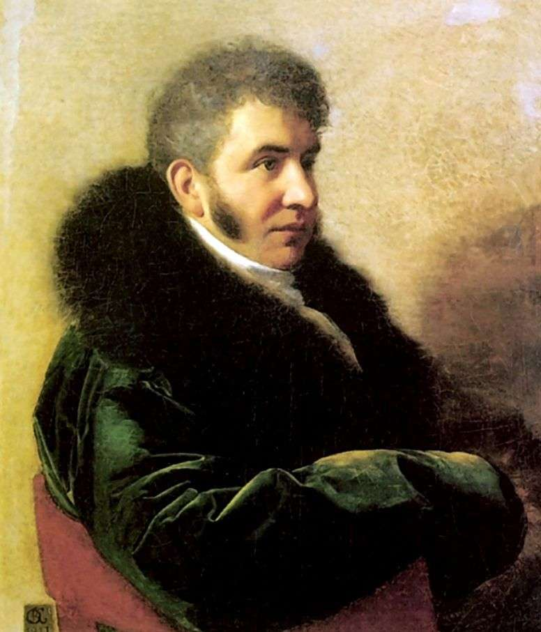 Портрет князя І. А. Гагаріна   Орест Кіпренський