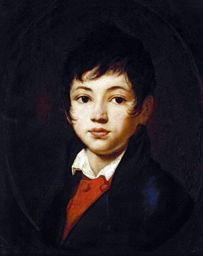 Портрет хлопчика Челіщева   Орест Кіпренський