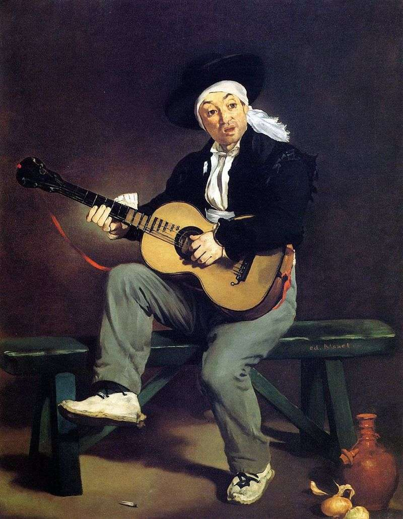 Іспанський гітарист   Едуард Мане