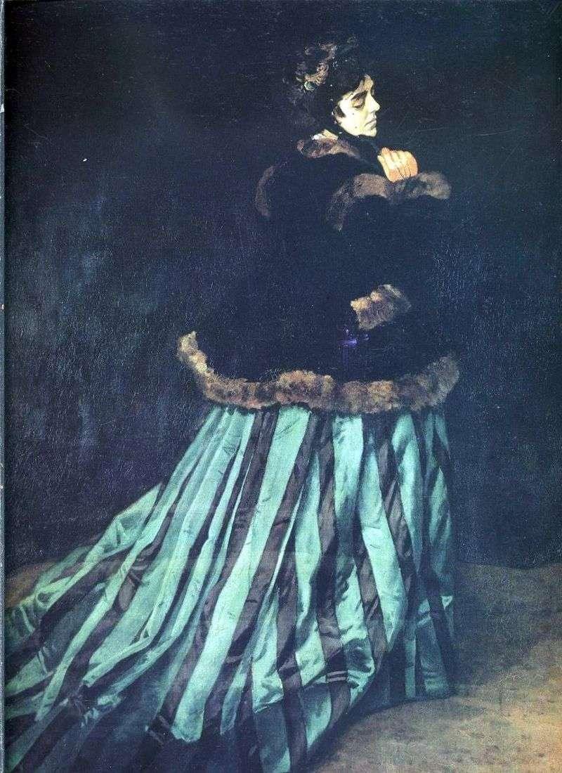 Камілла (Жінка в зеленій сукні)   Клод Моне