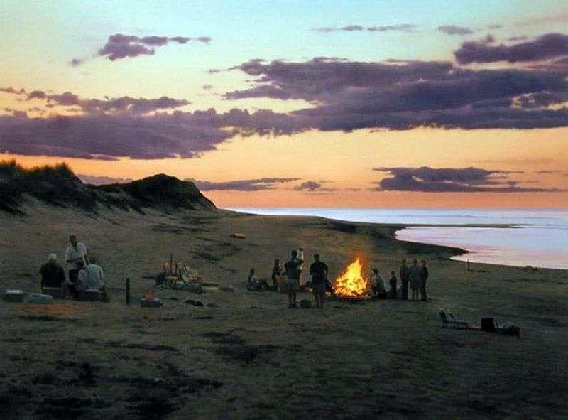 Багаття на березі   Скотт Прайор