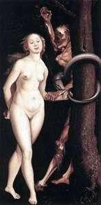 Єва, змія і смерть   Ганс Бальдунг