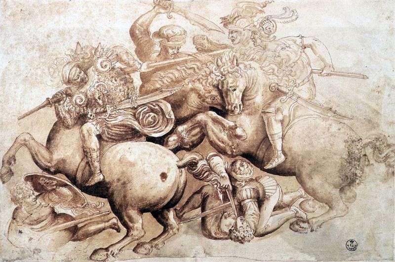 Ангиарийское битва   Леонардо да Вінчі