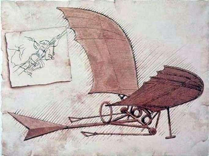 Аероплан   Леонардо да Вінчі