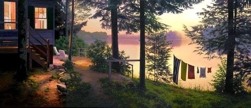 Озеро в сутінках   Скотт Прайор