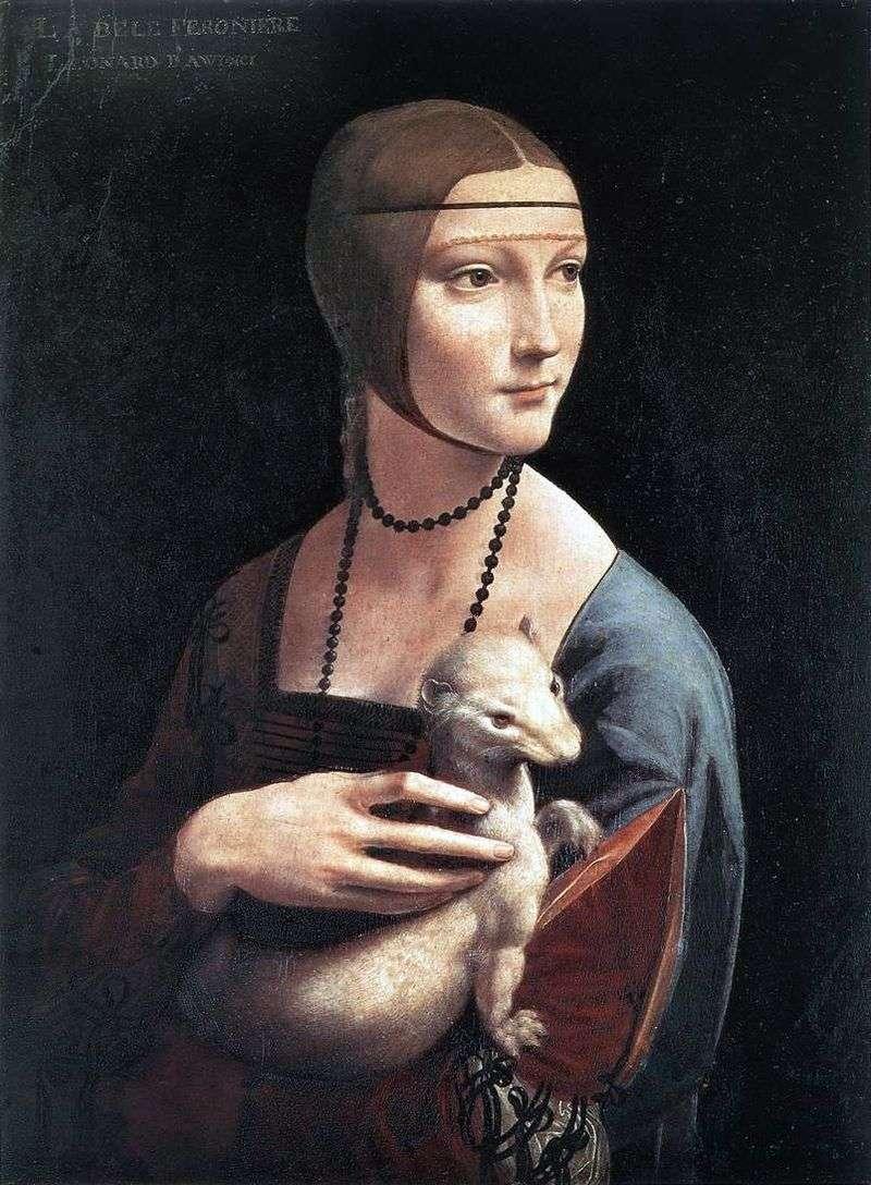 Дама з горностаєм   Леонардо да Вінчі