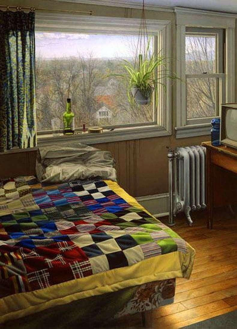 Спальня взимку   Скотт Прайор
