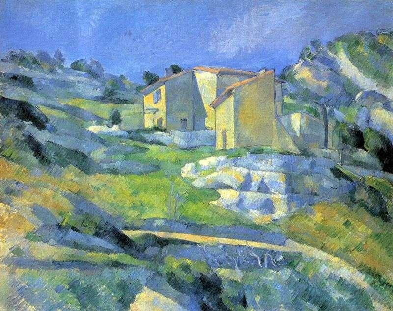 Будинки в Провансі поблизу Естака   Поль Сезанн