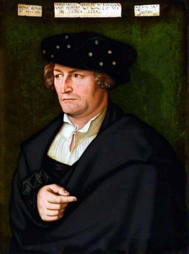 Портрет Якоба фон Морсперга   Ганс Бальдунг