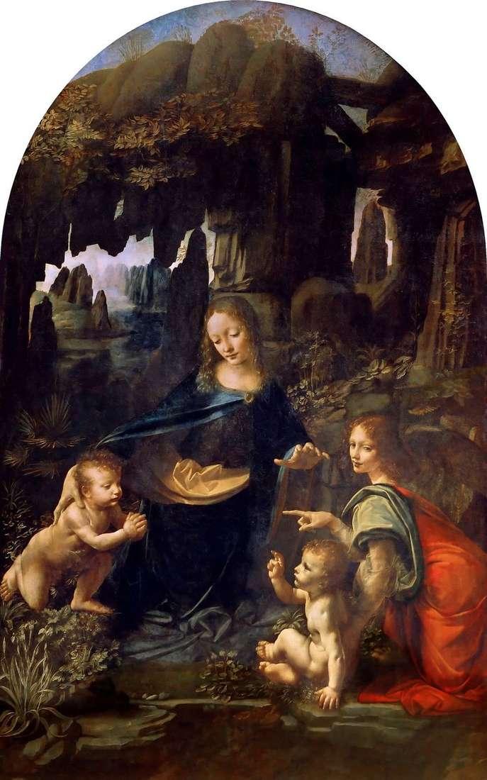 Діва Марія в гроті   Леонардо да Вінчі