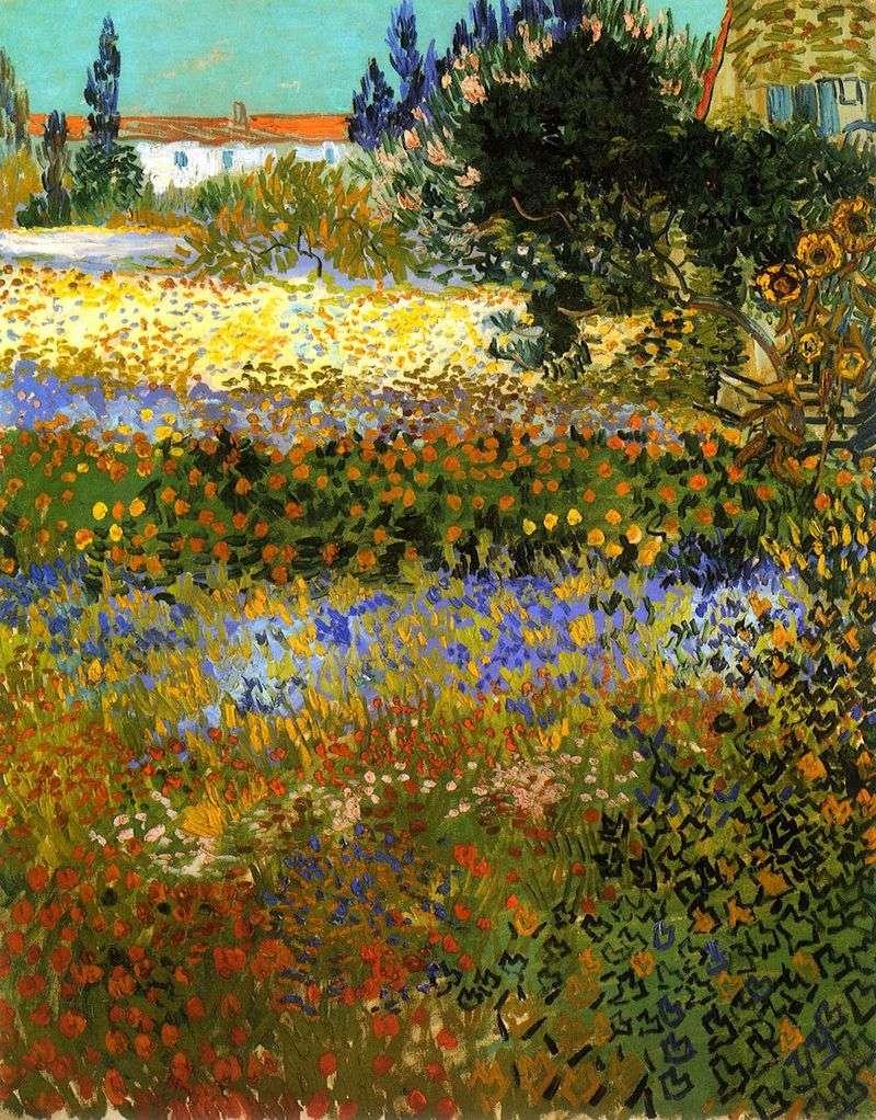 Квітучий сад   Вінсент Ван Гог