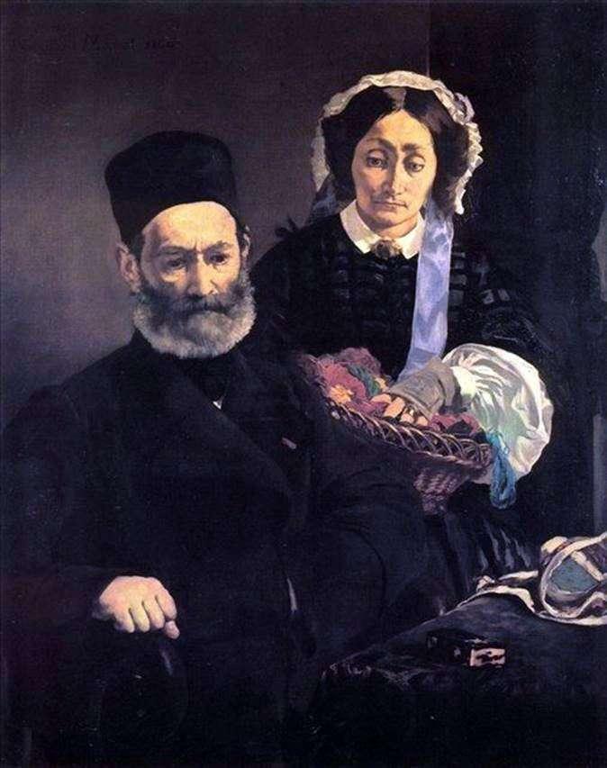 Мосьє і мадам Мане   Едуард Мане