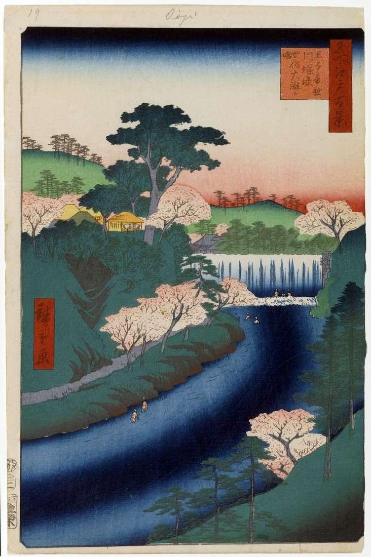 Дамба на річці Отонасигава в Одзі