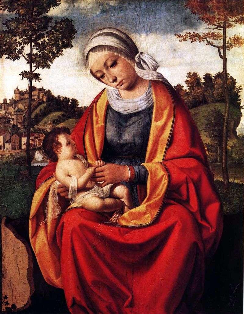 Марія з немовлям   Андреа Превитали