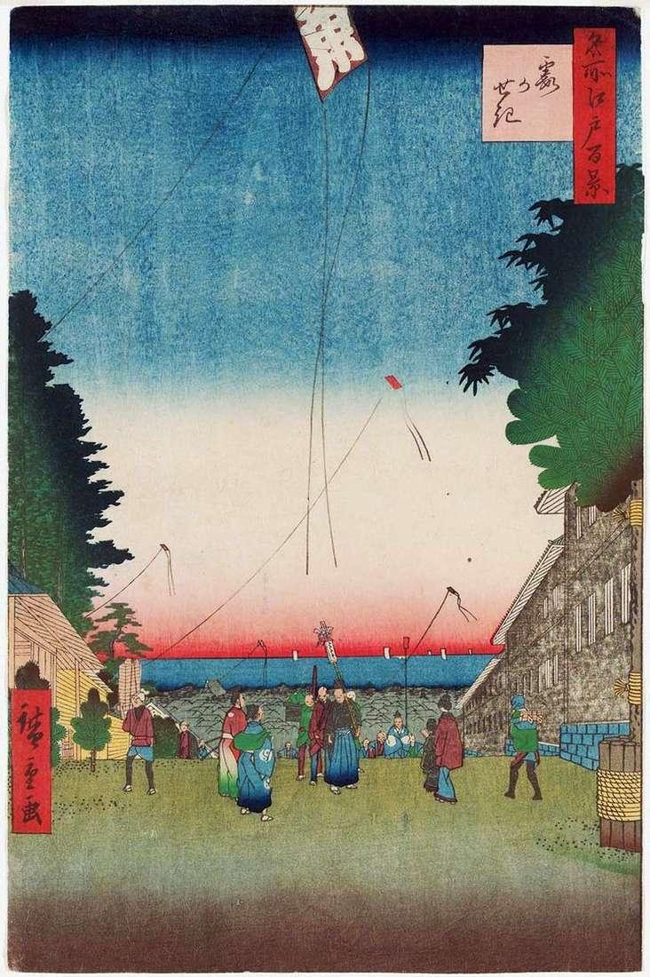 Застава туманів   Утагава Хиросигэ