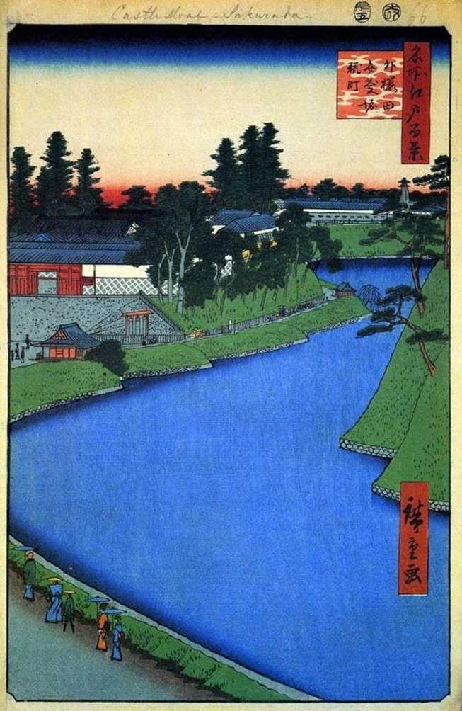 Канал Бэнкэйбори від Сото Сакурала в напрямку Кодзимати