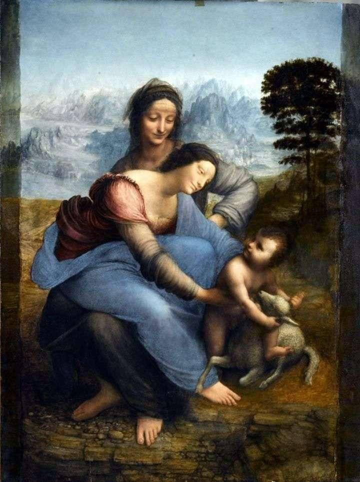 Мадонна з Немовлям і святою Анною   Леонардо да Вінчі