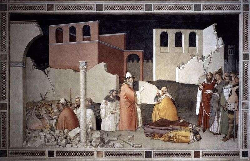 Диво з драконом Святого папи Сильвестра   Масо ді Банко