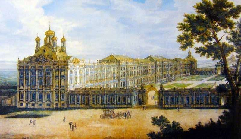 Вид Великого палацу   Фрідріх Гартман Баризьен