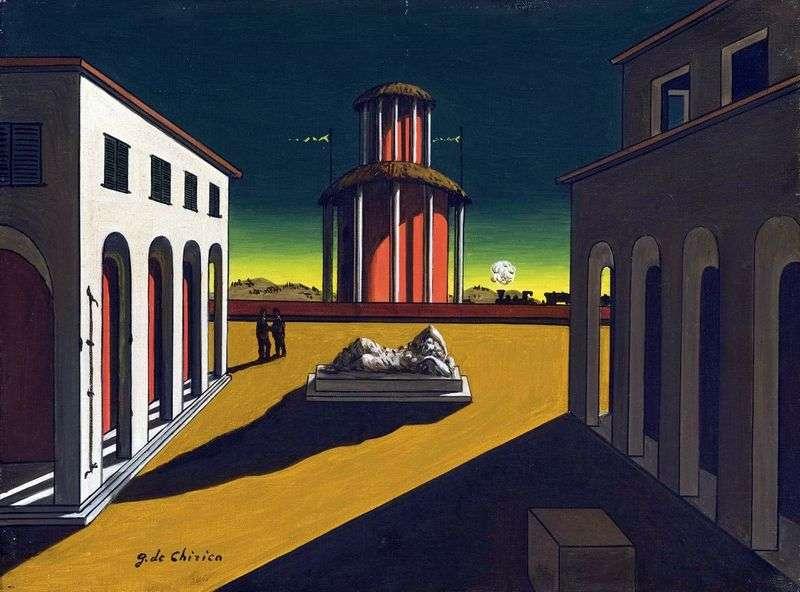 Італійські площі на картинах   Джорджо де Кіріко