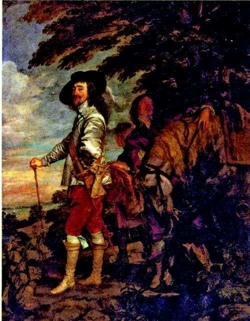 Карл I, король Англії, на полюванні   Ентоні Ван Дейк