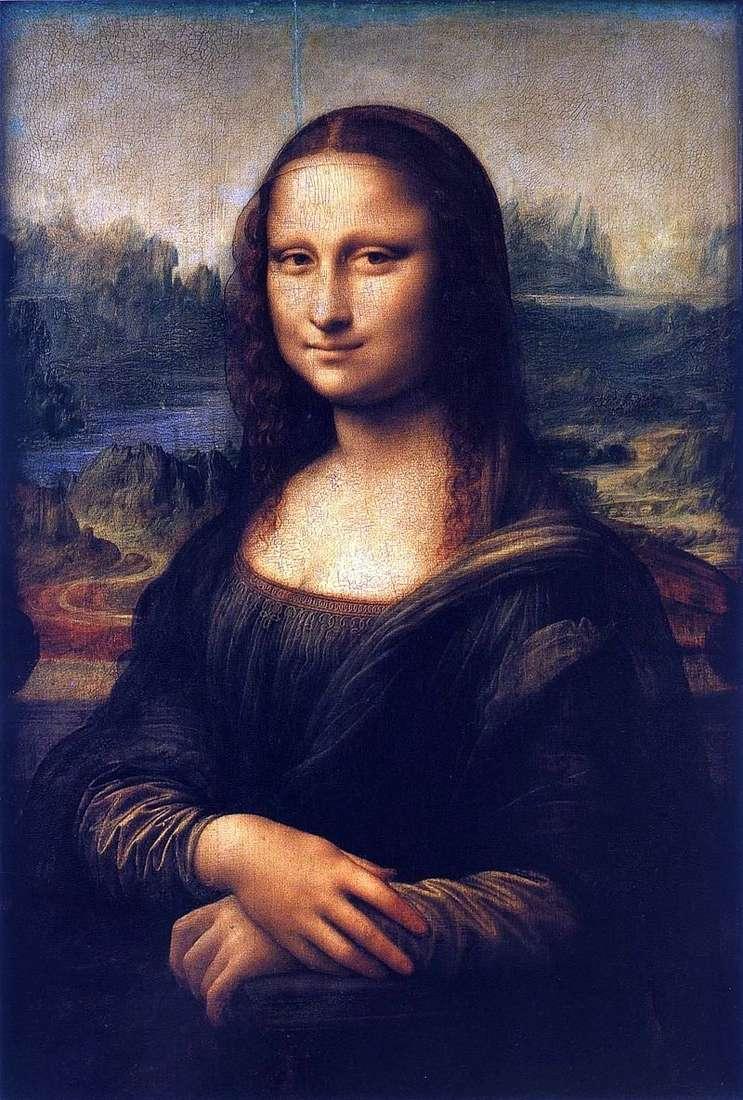 Мона Ліза або Джоконда Леонардо Да Вінчі