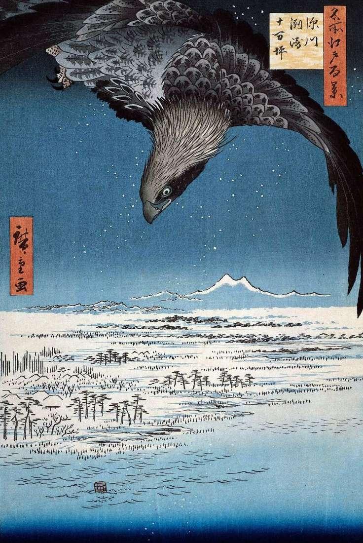 Місцевість Сусаки і Дзюманцубо в Фукагава   Утагава Хиросигэ