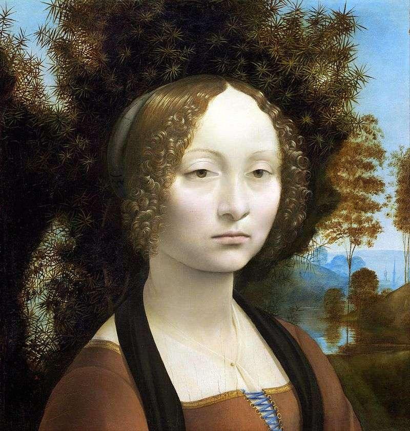 Портрет Жинерви де Бенсі   Леонардо да Вінчі