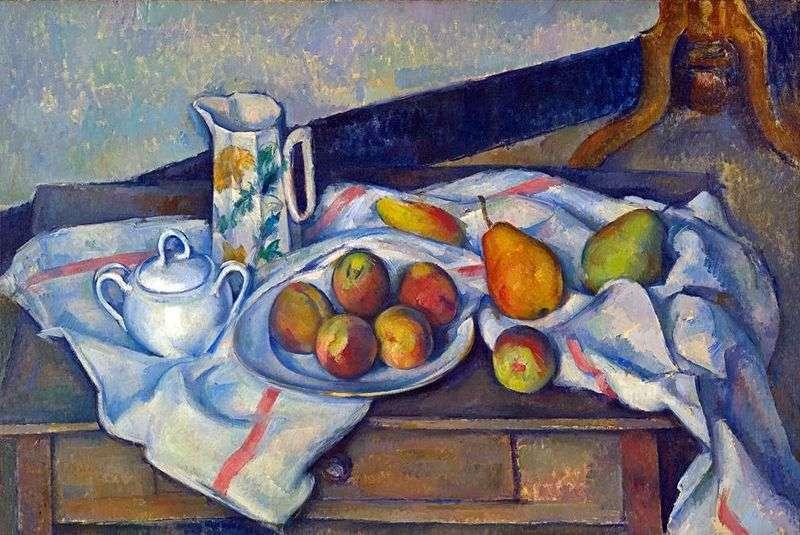 Персики і груші   Поль Сезанн