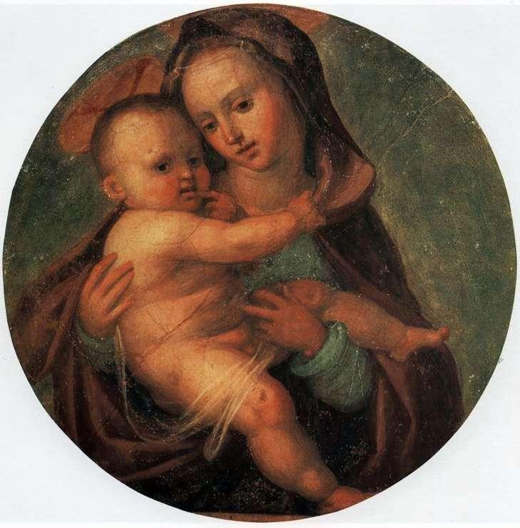 Мадонна з немовлям   Фра Бартоломео
