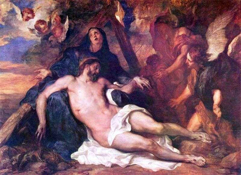 Оплакування Христа   Ентоні Ван Дейк
