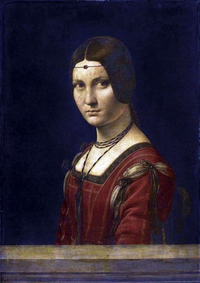 Прекрасна Ферроньера   Леонардо Да Вінчі
