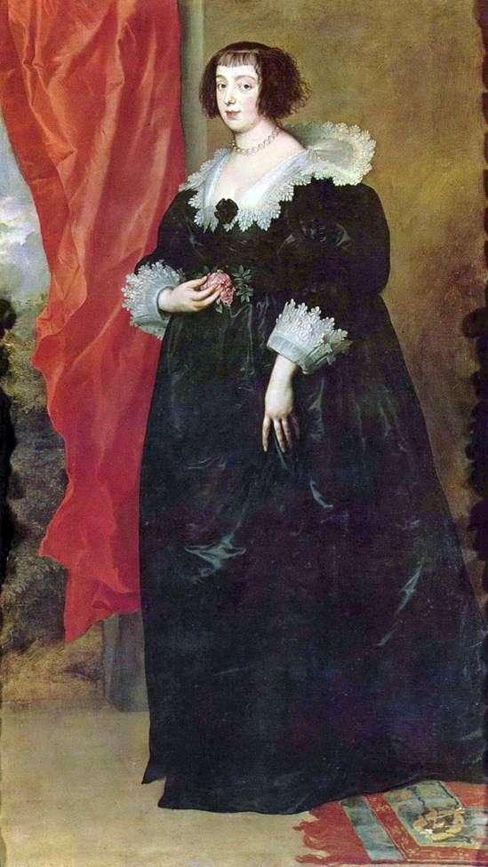 Портрет Маргарити Лотарінгське   герцогині Орлеанської   Ентоні Ван Дейк
