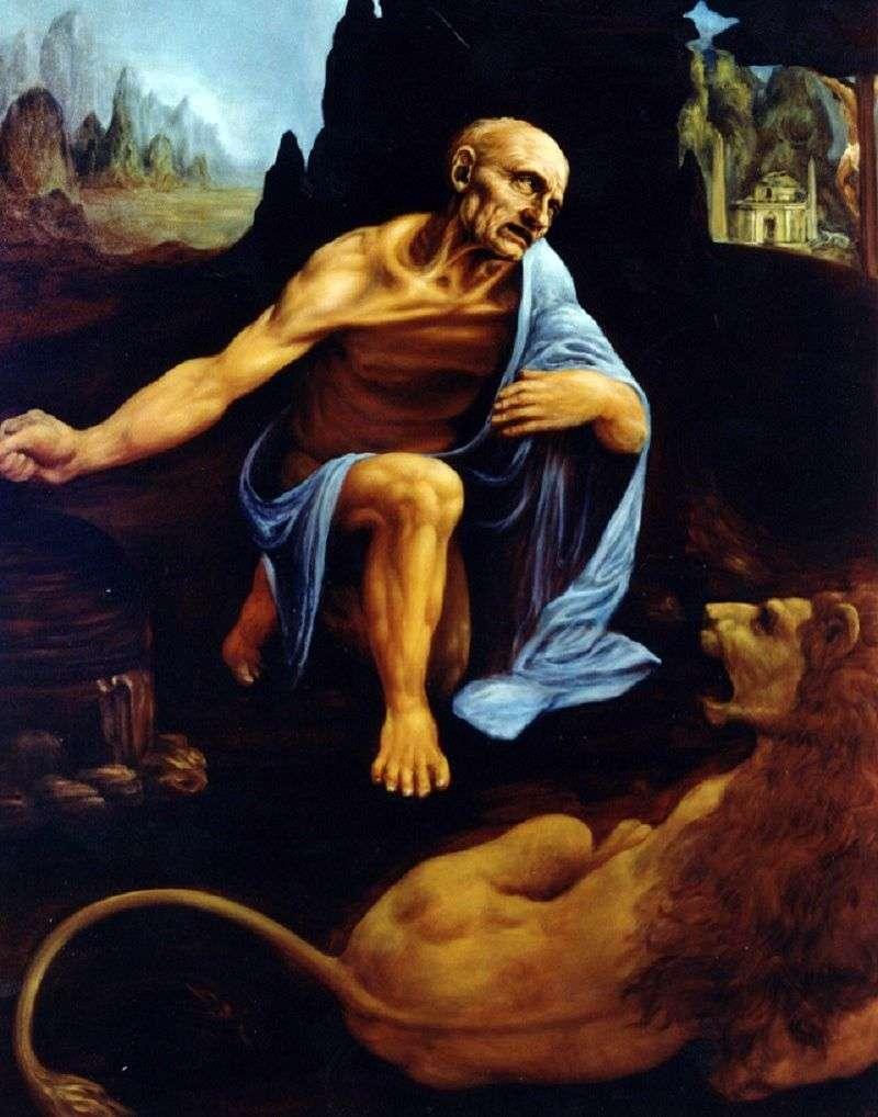 Святий Ієронім   Леонардо Да Вінчі