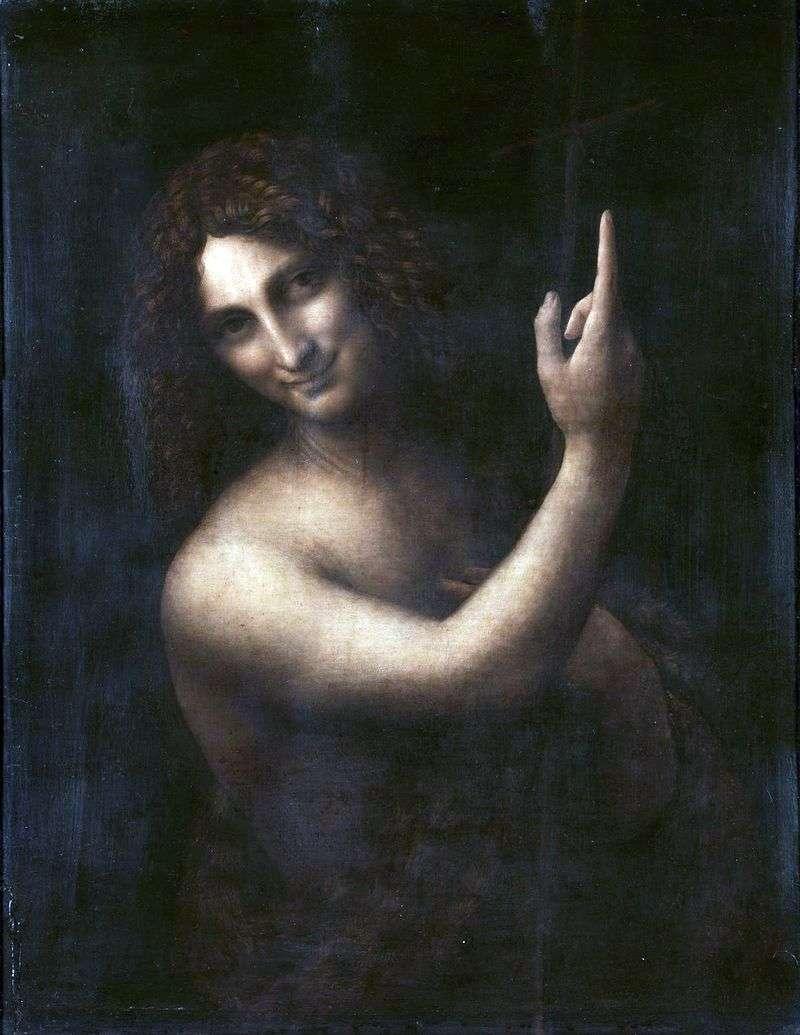 Святий Йоан Хреститель   Леонардо да Вінчі