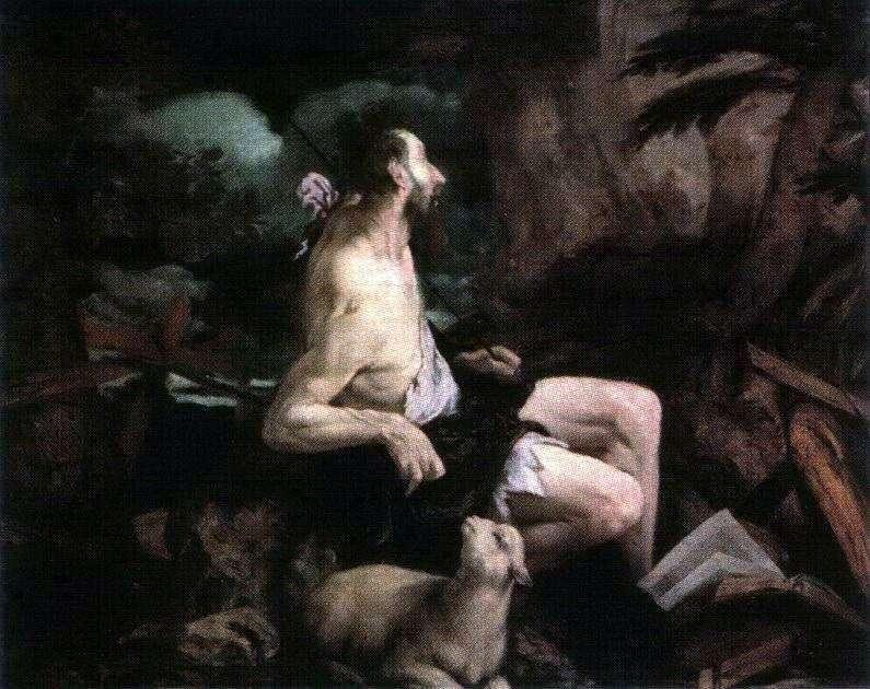 Іоанн Хреститель в пустелі   Якопо Бассано