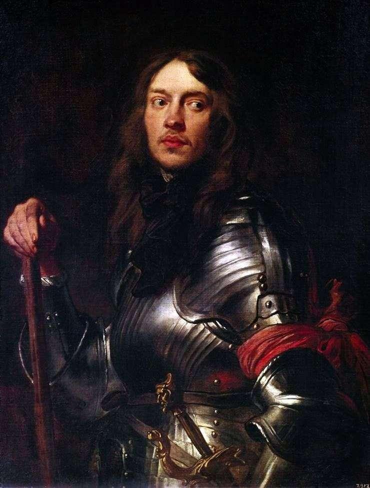 Портрет лицаря з червоною повязкою   Ентоні Ван Дейк