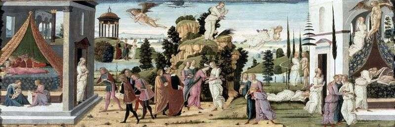 Історія Купідона і Психеї   Якопо дель Селлайо