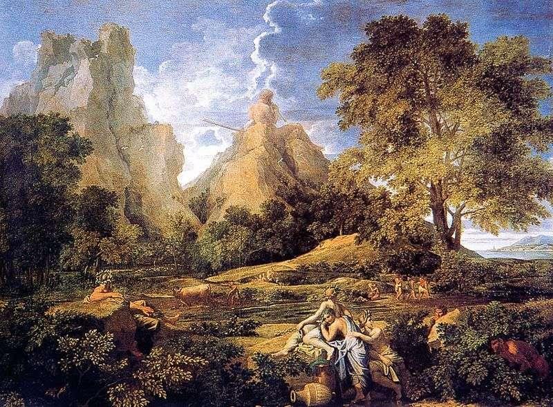 Пейзаж з Полифемом   Нікола Пуссен
