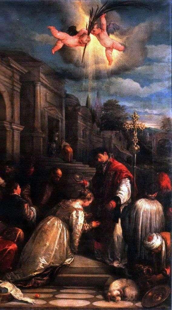 Хрещення святого Лучилли   Якопо Бассано