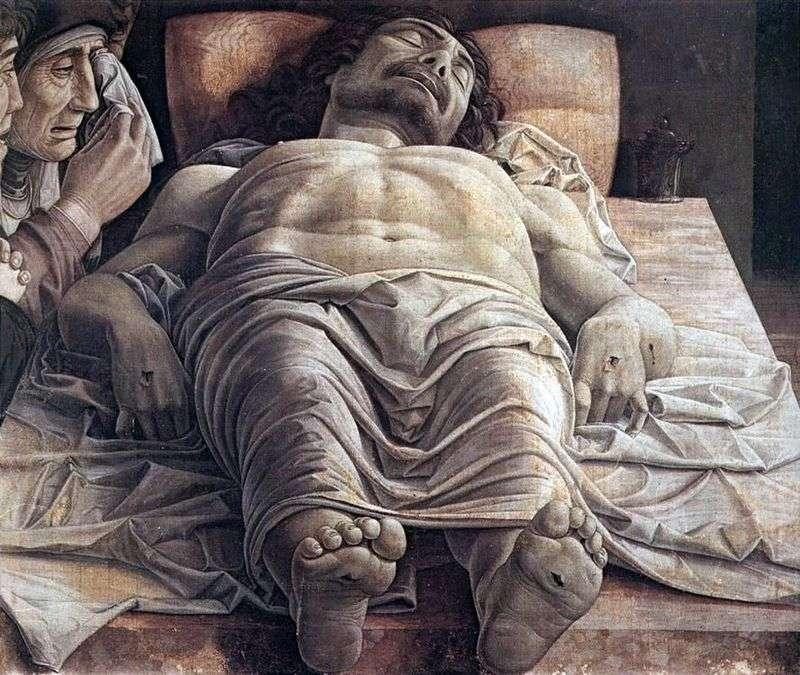 Оплакування мертвого Христа   Андреа Мантеньї