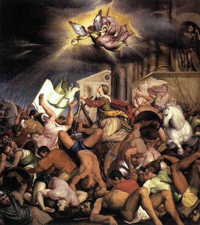 Мучеництво святої Катерини   Якопо Бассано