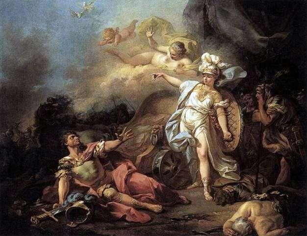 Битва Марса з Мінервою   Жак Луї Давид