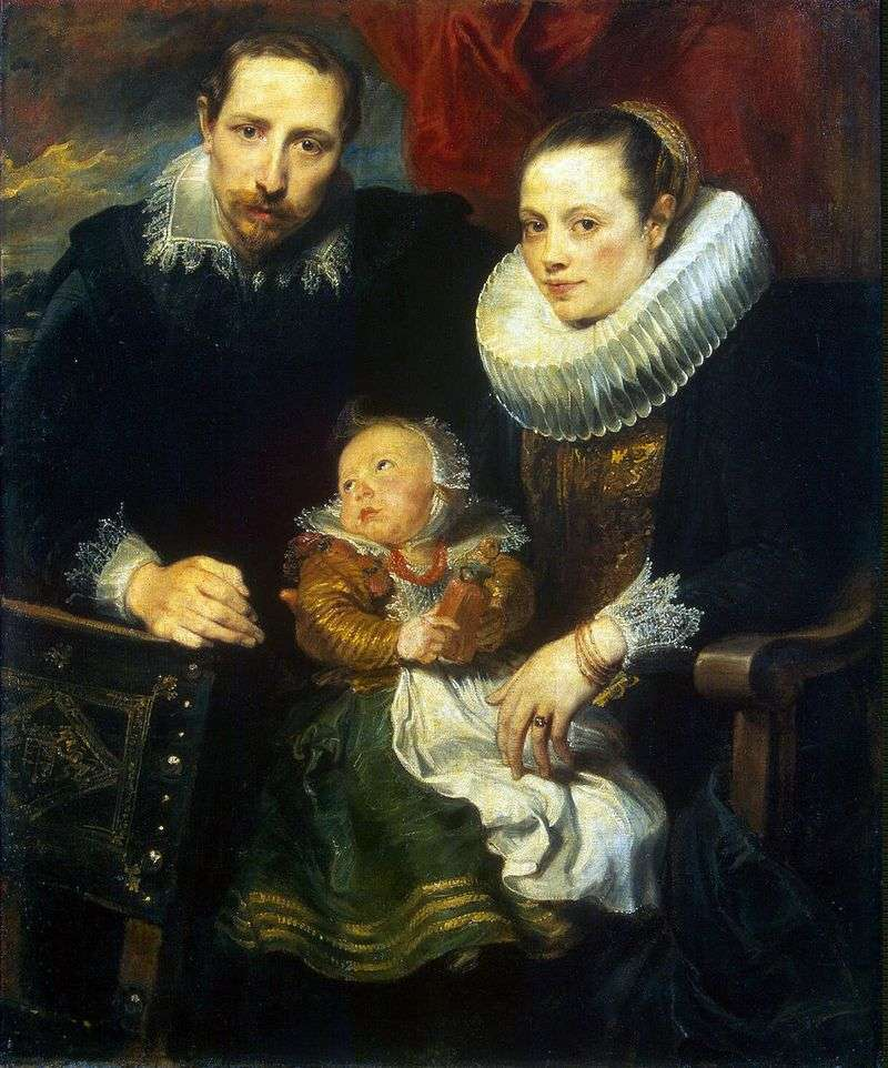Сімейний портрет   Ентоні Ван Дейк