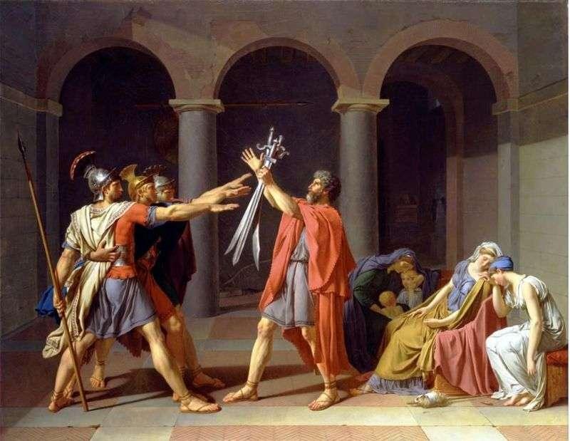 Клятва Гораціїв   Жак Луї Давид