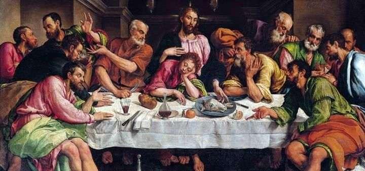 Таємна вечеря   Якопо Бассано